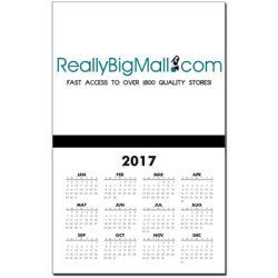 Really Big Mall 2014 Calendar Wall Print