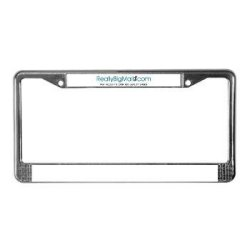 Really Big Mall License Plate Frame