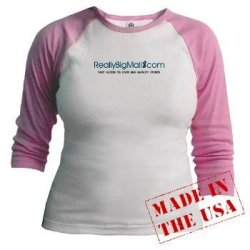 Really Big Mall Women's Junior Raglan