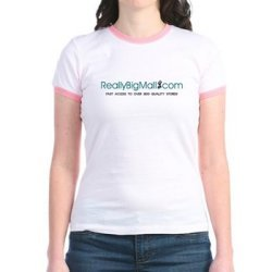 Really Big Mall Women's Junior Ringer Tee