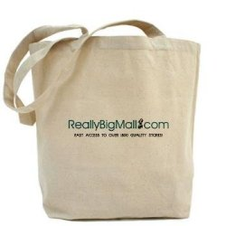 Really Big Mall Shopping Tote Bag