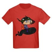 JSM Clothing & Gifts: Space Seal Kids' Dark T-Shirt